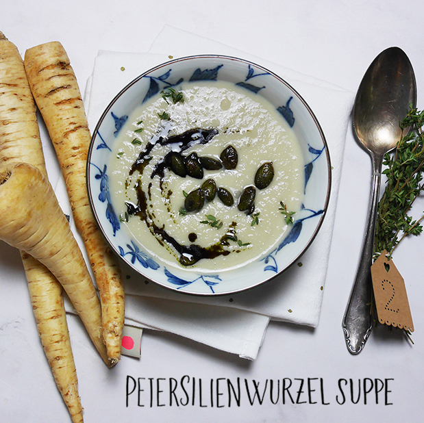 Petersilienwurzelsuppe